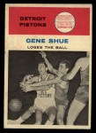 1961 Fleer #64   -  Gene Shue In Action Front Thumbnail