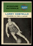 1961 Fleer #48   -  Larry Costello In Action Front Thumbnail