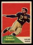1960 Fleer #27  Tony Teresa  Front Thumbnail