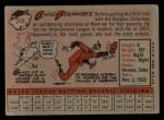 1958 Topps #348  Chico Fernandez  Back Thumbnail
