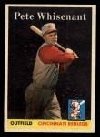 1958 Topps #466  Pete Whisenant  Front Thumbnail