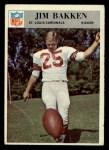 1966 Philadelphia #158  Jim Bakken  Front Thumbnail
