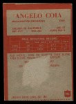 1965 Philadelphia #186  Angelo Coia     Back Thumbnail