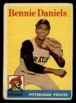 1958 Topps #392  Bennie Daniels  Front Thumbnail