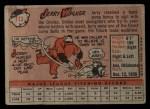 1958 Topps #113  Jerry Walker  Back Thumbnail