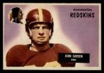 1955 Bowman #22  John Carson  Front Thumbnail