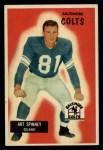 1955 Bowman #107  Art Spinney  Front Thumbnail