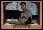 1955 Bowman #3  Joe Coleman  Front Thumbnail