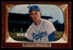 1955 Bowman #196  Russ Meyer  Front Thumbnail