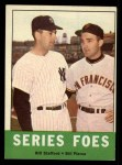1963 Topps #331   -  Bill Stafford / Bill Pierce Series Foes   Front Thumbnail