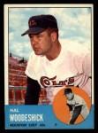 1963 Topps #517  Hal Woodeshick  Front Thumbnail