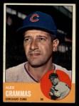 1963 Topps #416  Alex Grammas  Front Thumbnail