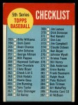 1963 Topps #362 A  Checklist 5 Front Thumbnail