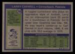 1972 Topps #299  Larry Carwell  Back Thumbnail