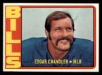 1972 Topps #319  Edgar Chandler  Front Thumbnail