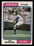 1974 Topps #136  Rick Reuschel  Front Thumbnail