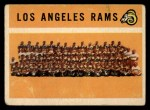 1960 Topps #71   Rams Team Checklist Front Thumbnail