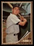 1962 Topps #3  Pete Runnels  Front Thumbnail