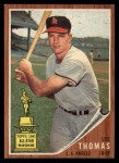 1962 Topps #154 A Lee Thomas  Front Thumbnail