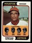 1974 Topps #31   -  Preston Gomez / Roger Craig / Grady Hatton / Hub Kittle / Bob Lillis Astros Leaders Front Thumbnail