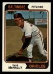 1974 Topps #235  Dave McNally  Front Thumbnail