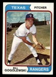 1974 Topps #242  Bill Gogolewski  Front Thumbnail