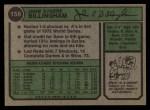 1974 Topps #158  Jack Billingham  Back Thumbnail