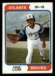 1974 Topps #227  Mike Lum  Front Thumbnail
