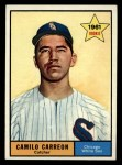 1961 Topps #509  Camilo Carreon  Front Thumbnail