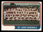 1974 Topps #36   Cardinals Team Front Thumbnail