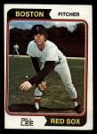 1974 Topps #118  Bill Lee  Front Thumbnail
