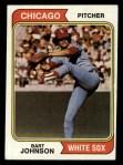 1974 Topps #147  Bart Johnson  Front Thumbnail