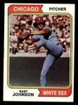 1974 Topps #147  Bart Johnson  Front Thumbnail