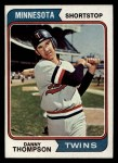 1974 Topps #168  Danny Thompson  Front Thumbnail