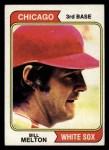 1974 Topps #170  Bill Melton  Front Thumbnail