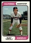 1974 Topps #188  Rudy Meoli  Front Thumbnail