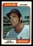 1974 Topps #199  Mike Kekich  Front Thumbnail