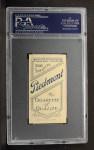 1909 T206  J.F Kiernan  Back Thumbnail