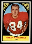 1967 Topps #70  Fred Arbanas  Front Thumbnail