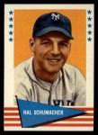 1961 Fleer #137  Hal Schmacher  Front Thumbnail