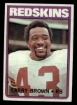 1972 Topps #95  Larry Brown  Front Thumbnail