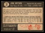 1964 Topps Venezuelan #38  Jim Wynn  Back Thumbnail