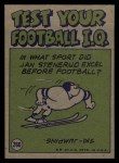 1972 Topps #260   -  Mike McCoy Pro Action Back Thumbnail