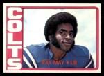 1972 Topps #297  Ray May  Front Thumbnail