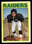 1972 Topps #323  George Atkinson  Front Thumbnail