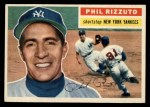 1956 Topps #113 GRY Phil Rizzuto  Front Thumbnail