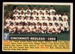 1956 Topps #90 D55  Reds Team Front Thumbnail