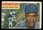 1956 Topps #15  Ernie Banks  Front Thumbnail