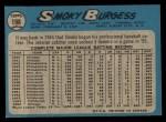 1965 O-Pee-Chee #198  Smoky Burgess  Back Thumbnail