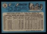 1965 O-Pee-Chee #256  Tito Francona  Back Thumbnail
